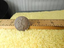 Vtg.Old Coin 1922 Georgivs V Dei Gra:Britt:Omn:Fid:Ind:Imp: Half Penny