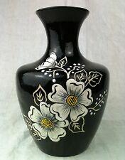 Vase Malerei Art Deco vaso Enamel painting pittura a smalto peinture émail