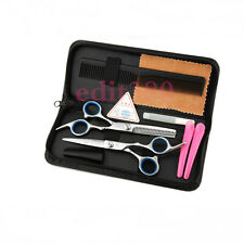 "5.0"" PROFESSIONAL SALON HAIRDRESSING HAIR CUTTING THINNING BARBER SCISSORS SET"
