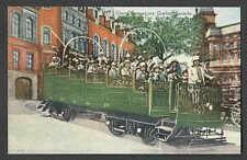 Ca 1936 PPC* QUEBEC CANADA OPEN OBSERVATION CAR MINT