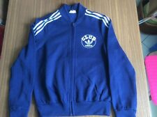 Vintage adidas CLUB track top VENTEX made in France navy blue - like new - Small