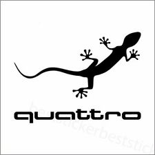AUDI Quattro Lizard Aufkleber Window Bumper Laptop Sticker Vinil Decal 123