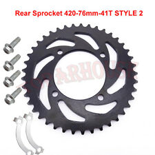 420 41T Rear Sprocket For50cc110cc 125cc 140cc 150cc CRF50 KLX SSR Pit Dirt Bike