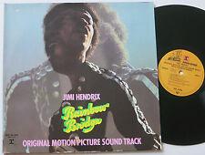 JIMI HENDRIX RAINBOW BRIDGE MOTION PICTURE SOUNDTRACK REPRISE LP MINT-