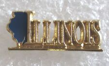 State of Illinois Travel Souvenir Collector Pin