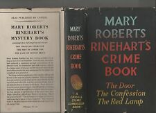 Mary Roberts Rinehart's CRIME BOOK the door / confession / red lamp 1958