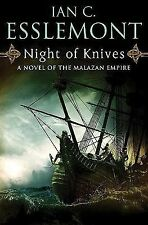 Night of Knives: A Novel of the Malazan Empire, Ian C. Esslemont, Good Condition