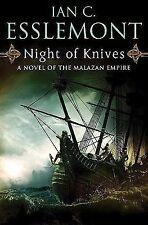 Night of Knives: A Novel of the Malazan Empire (Novels of the Malazan -ExLibrary
