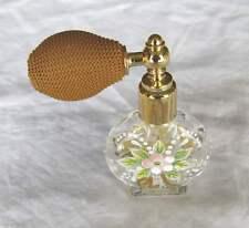 Flacon à parfum en verre soufflé  Murano authentique