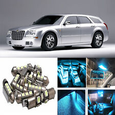 14×ICE Blue LED Interior Light Package Kit for Chrysler 300 300c 2011-2016