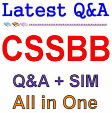 ASQ Certified Six Sigma Black Belt CSSBB Exam Q&A PDF+SIM