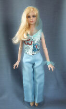 """Blue rose"" handmade outfit for Tonner doll Cami Antoinette Body 16"" (clothing)"