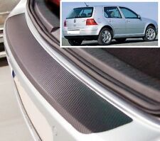VW Golf 3/5 door MK4 - Carbon Style rear Bumper Protector