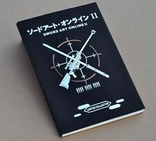 New Anime Note Book Note Pad Sword Art Online Gun Gale Online Cosplay