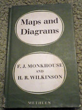 Maps and Diagrams Their Compilation and Construction HB with Dust Jacket1963