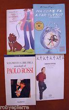 Lotto 4 libri Ma come fa a far tutto? E l'alluce fu Si fa presto a dire pirla ..