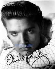 Elvis Presley SIGNED AUTOGRAPHED 10X8 REPRO PHOTO PRINT