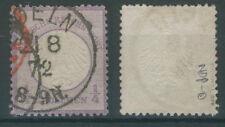 Deutsches Reich 1 gestempelt Koeln 21.8.72 ME 120 geprüft Jäschke (646339)