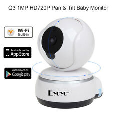 Q3 HD Wi-fi Video Camera 2 Vie Voce Talk PT IR Baby Monitor per IOS,Android Hot