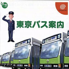 (Used) Dreamcast Tokyo Bus Guide [Japan Import] ((Free Shipping))
