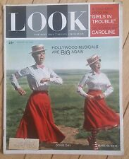LOOK MAGAZINE AUGUST 14 1962 HOLLYWOOD MUSICALS BIG AGAIN GIRLS IN TROUBLE