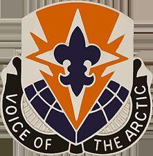 0059 Signal Battalion Unit Crest (Voice Of The Artic)