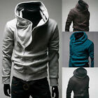 Mens Casual Zipper Sexy Slim Fit Top Designed Hoodies Coat Jacket Sweater QWB