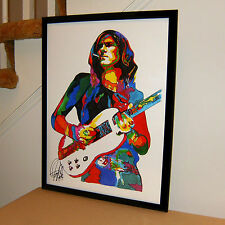 Glen Buxton, Alice Cooper, Guitar Player, Rock, Hard Rock, 18x24 POSTER w/COA