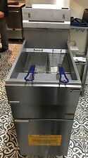 Infernus Gas Floor Standing Chip Fryer 3 Burner Natural/LPG, Brand new, RRP £800