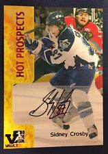 2015-16 Sidney Crosby ITG Final Vault 2005-06 Heroes And Prospects Autograph