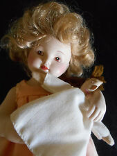 "Rare Vintage Bessie Pease Gutmann Doll ""Love is Blind"" all porcelain"
