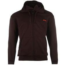 Sweat-shirt à Capuche SLAZENGER Full Zip Small NEUF / Hoody Burgundy Size S NEW