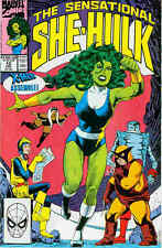 Sensational She-Hulk # 12 (Steve Leialoha & Trina Robbins) (USA, 1990)