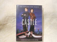 Castle: The Complete First Season (DVD, 2009, 3-Disc Set)**LIKE NEW** **GENUINE*