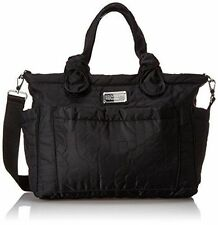 Marc by Marc Jacobs Nylon  Eliza Quilted Baby Diaper Bag Tote Black New $298.00