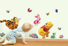 Disney Winnie the Pooh Tigger Piglet Friends Nursery Wall Sticker Decal Wall Art