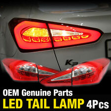OEM Parts Surface Emission Trunk LED Tail Lamp 4Pcs For KIA 2013 - 2016 Forte K3