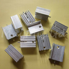5pcs 21x15x10mm IC Aluminum Heat Sink With Needle TO-220 Mosfet Transistors é