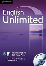 English Unlimited Pre-intermediate Self-study Pack (Workbook with DVD-ROM), Robi