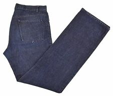 Costume National Homme Couture Indigo Slub Lightweight Denim Jeans IT 48