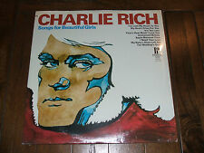 Charlie Rich - Songs For Beautiful Girls mid 1970s SEALED LP Pickwick country