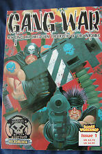 Warhammer 40k UNUSED Necromunda Gang Wars Issue 1 Rare Fanatic Press OOP