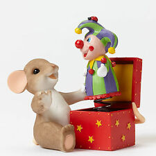 Charming Tails*MOUSE WITH JACK IN THE BOX*New*NIB*You Always Surprise Me*4045299