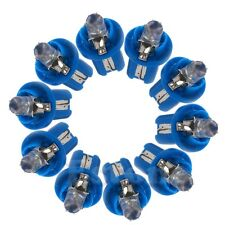 10 X T5 12V Gauge LED Car Speedo Dashboard Dash Wedge Side Light Bulb Lamp Blue