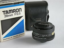 TAMRON  28mm F/2.5 ADAPTALL-2 SYSTEM WIDE ANGLE LENS