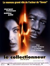 Affiche 40x60cm LE COLLECTIONNEUR 1997 Morgan Freeman, Ashley Judd NEUVE