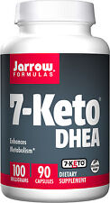 Jarrow Formulas 7-Keto DHEA 100 mg 90 Capsules - Metabolism Booster, Weight Loss