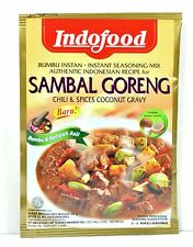 Indofoods Indonesian Instant Sambal Goreng Chili & Spices Coconut Gravy Mix