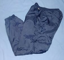 CHARLES RIVER Navy Cotton Lined Sport Athletic Track Basketball Pants SMALL