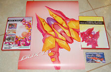 Dux Version 1.5 Limited Edition 288/500 + Poster Dreamcast Gunlord Fast Striker